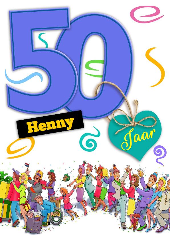 Verjaardag Man 50 Jaar