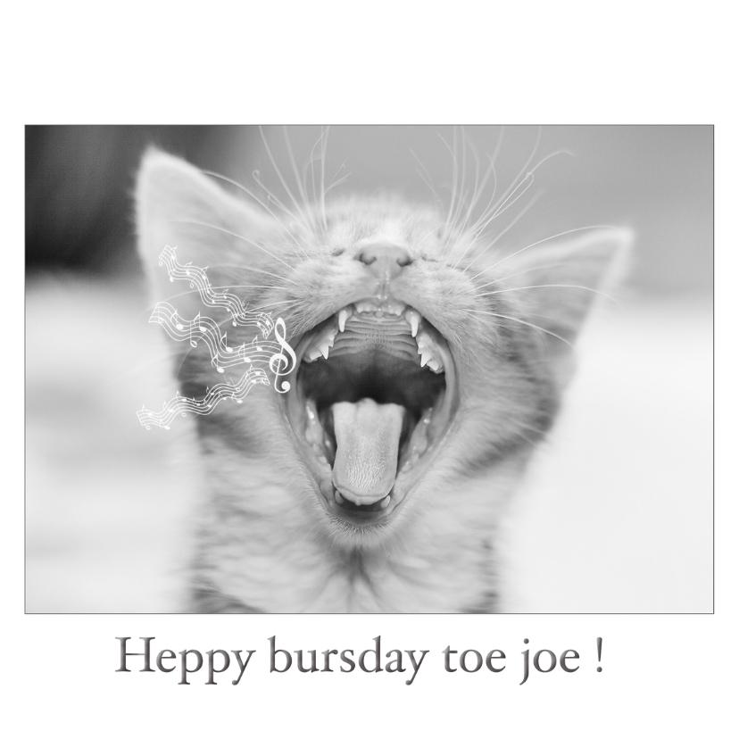 Verjaardagskaarten - heppy bursday