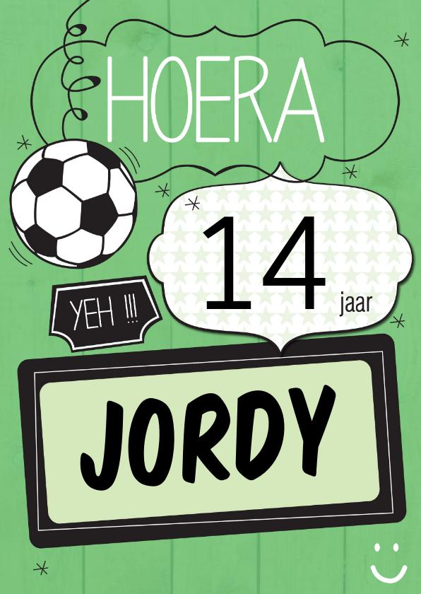 Verjaardagskaarten - Hoera.... yeh-ByF