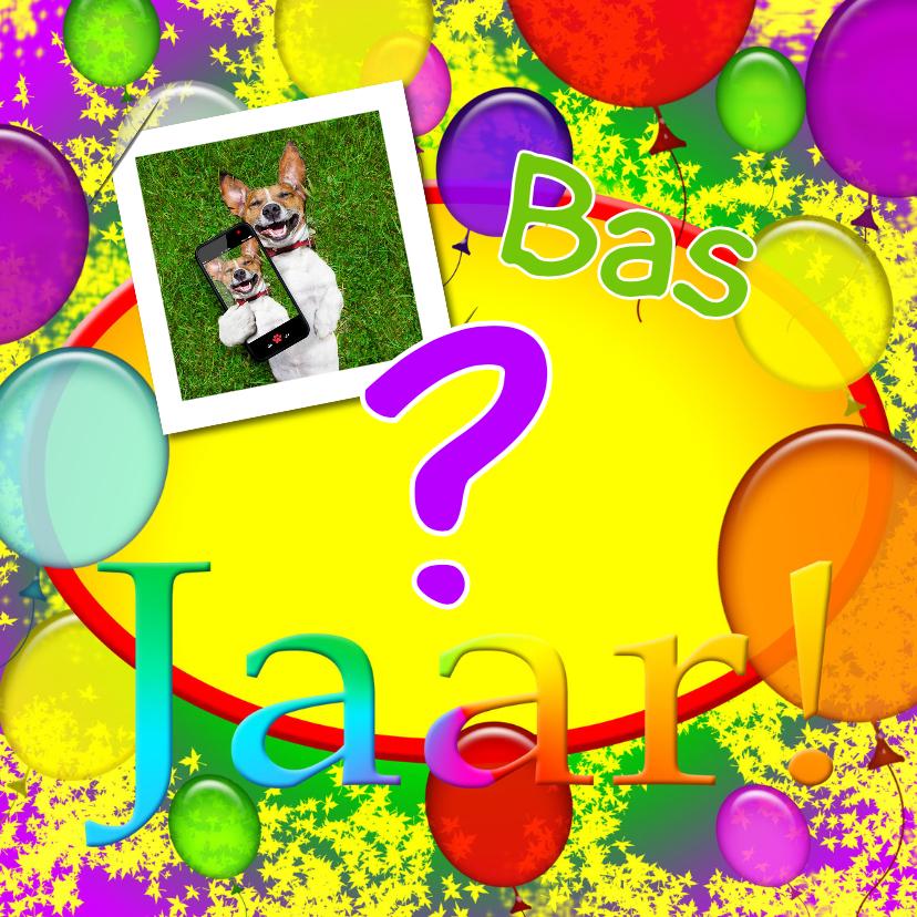 Verjaardagskaarten - Hoeveel jaar 31 ballonnen RB