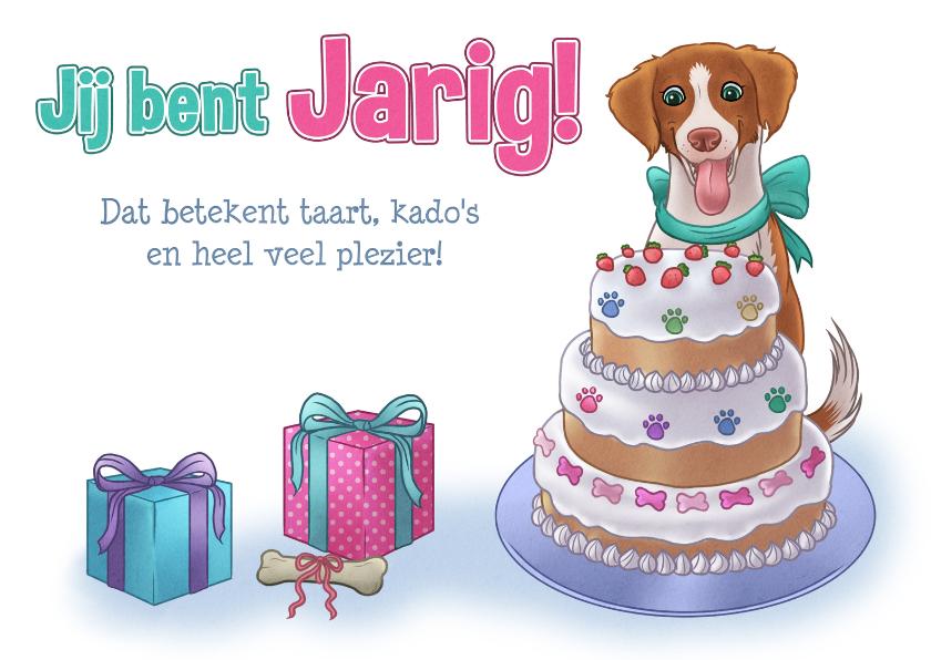 Verjaardagskaarten - Hondje Hana Verjaardagskaart