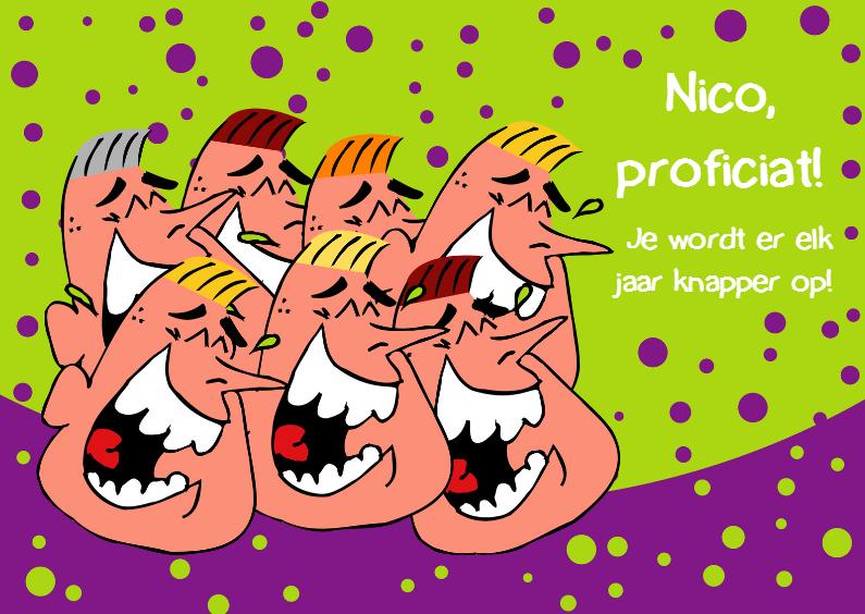 Humor verjaardagskaart man 1