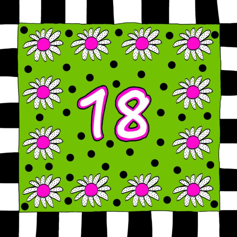 Verjaardagskaarten - Jarig 18
