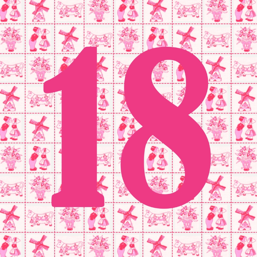 Verjaardagskaarten - JippieJippie jarig 014 18