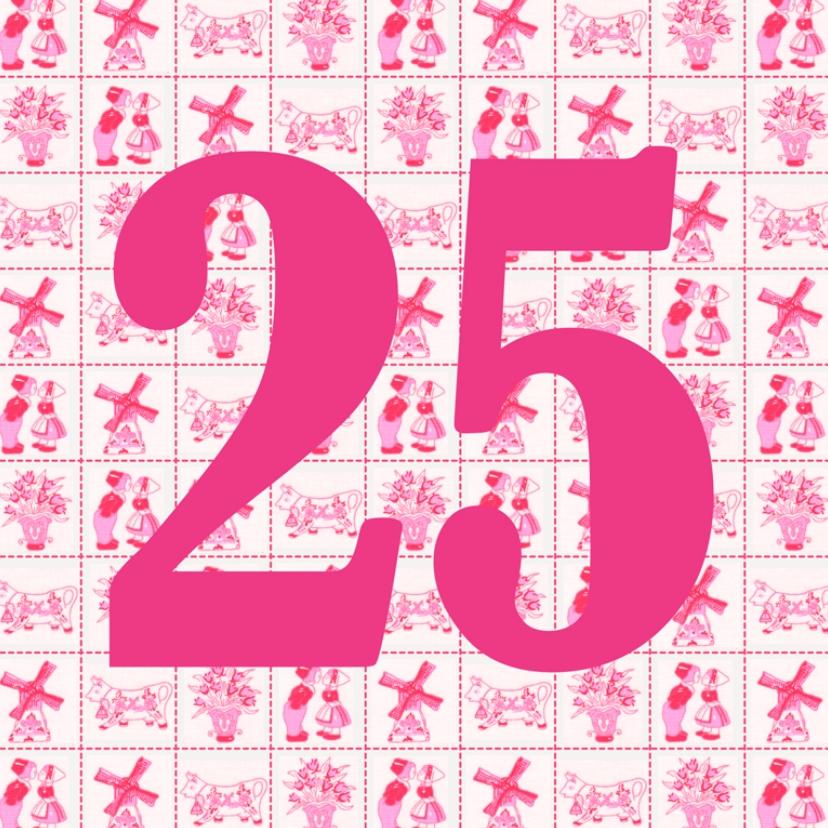 Verjaardagskaarten - JippieJippie jarig 014 25