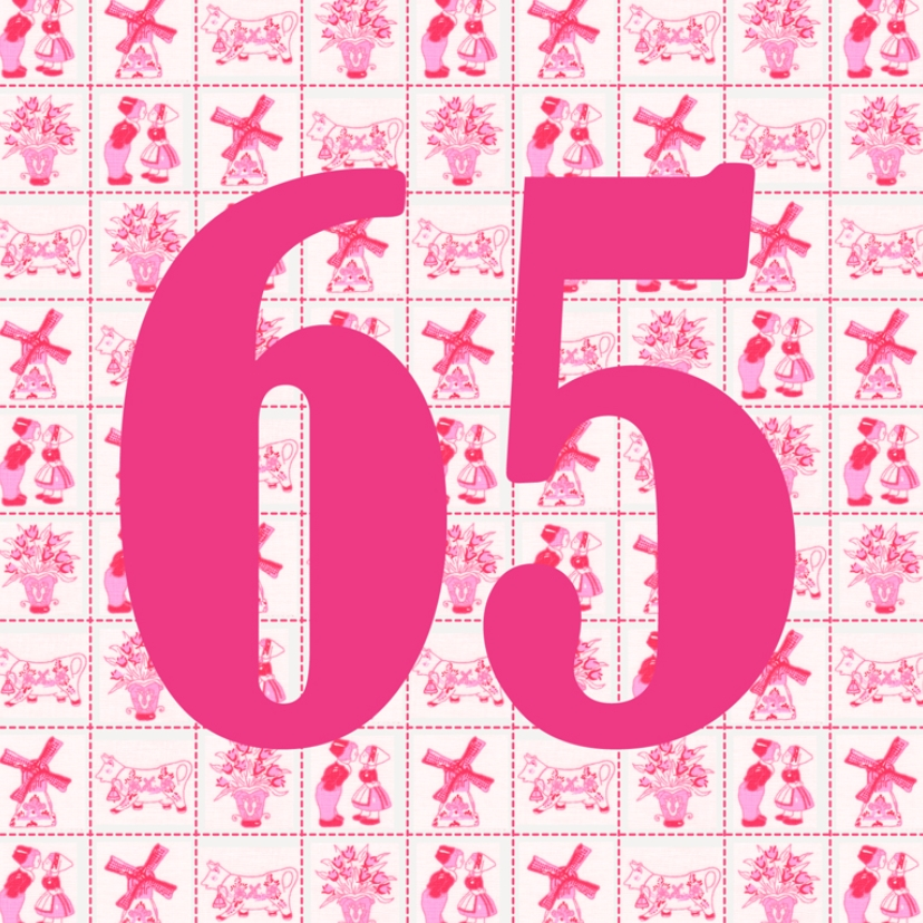 Verjaardagskaarten - JippieJippie jarig 014 65