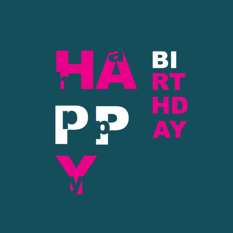 Verjaardagskaarten - letterssss