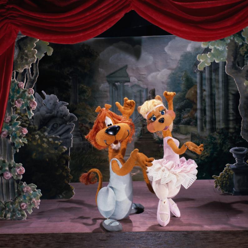 Verjaardagskaarten - Loeki & Roos ballet duet