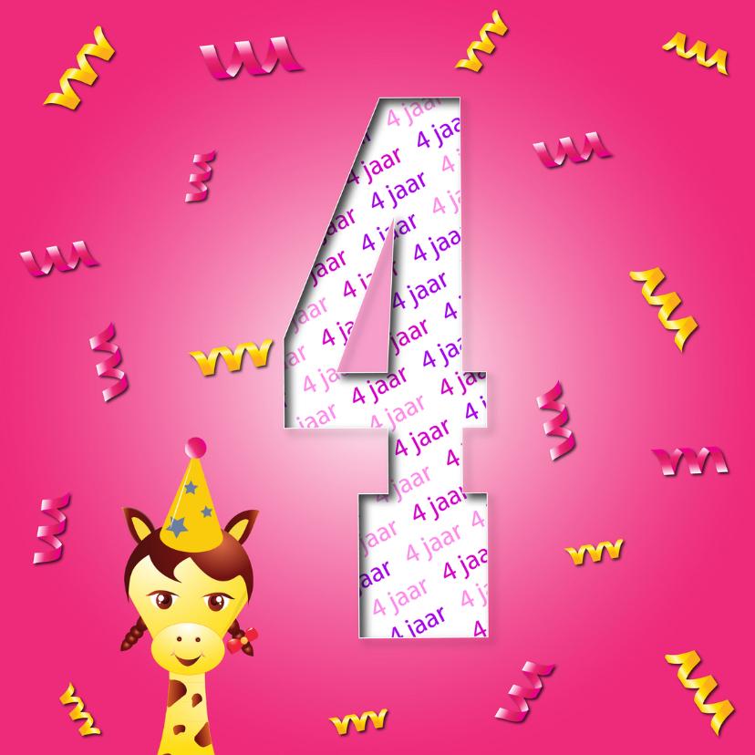 Verjaardagskaarten - meisje4jaar-2