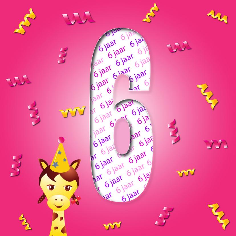 Verjaardagskaarten - meisje6jaar-2