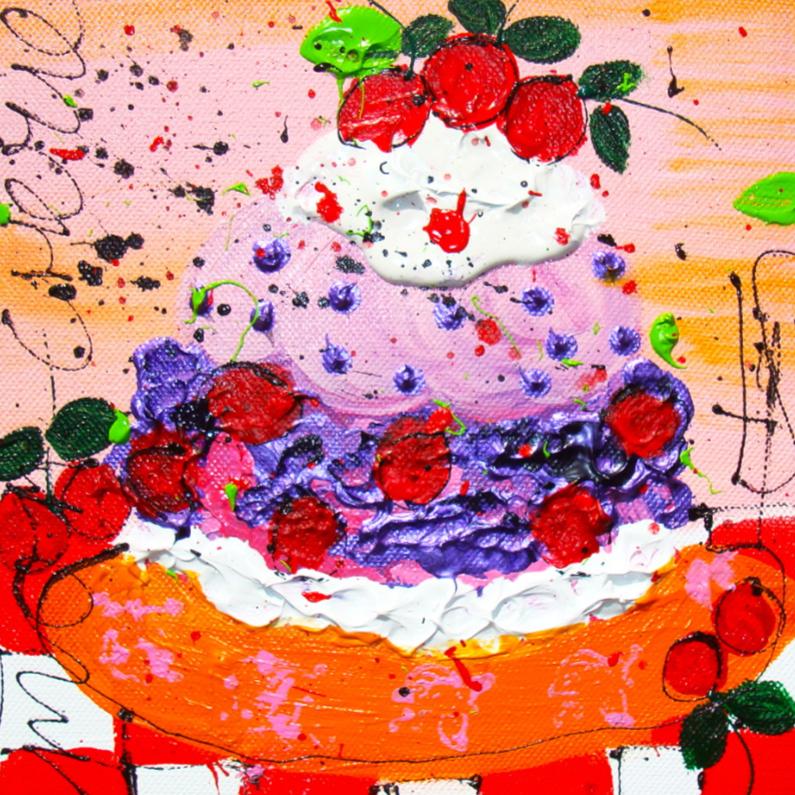 Verjaardagskaarten - Mon Cherie