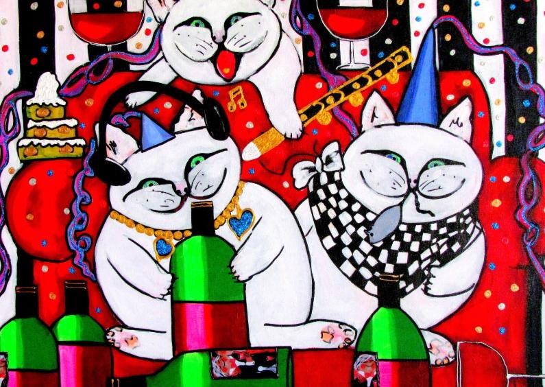 Verjaardagskaarten -  Mr Fatso and friends