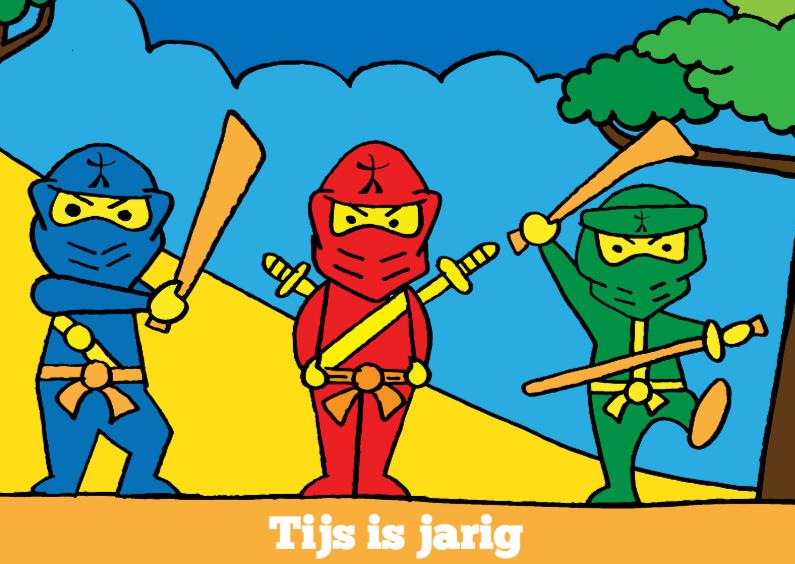 Ninja is jarig 1