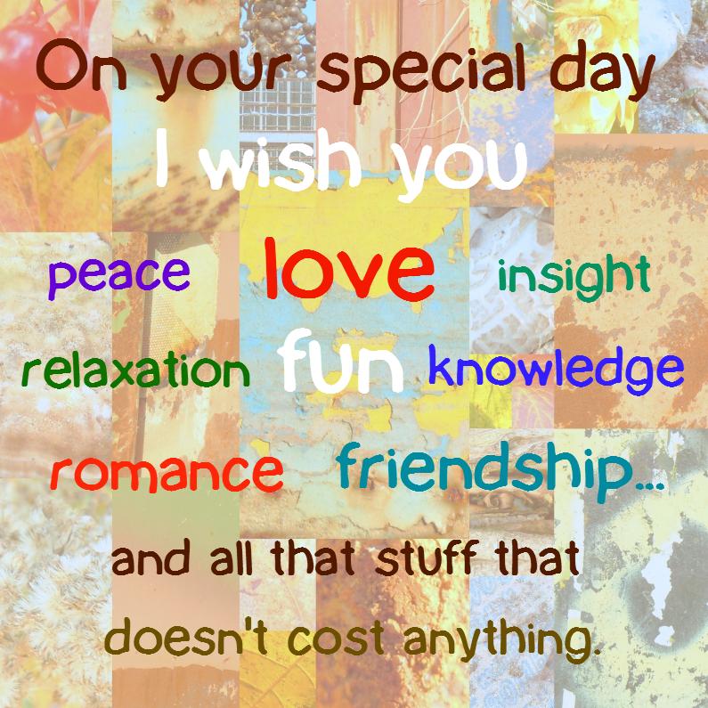 Verjaardagskaarten - On your special day