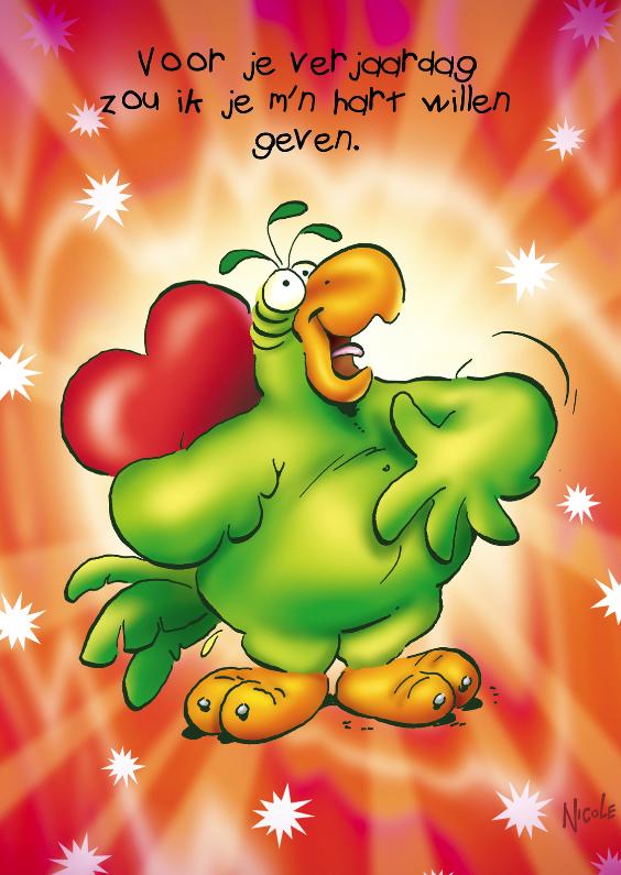 Verjaardagskaarten - rocco verjaardag 26 rocco zingt met hart