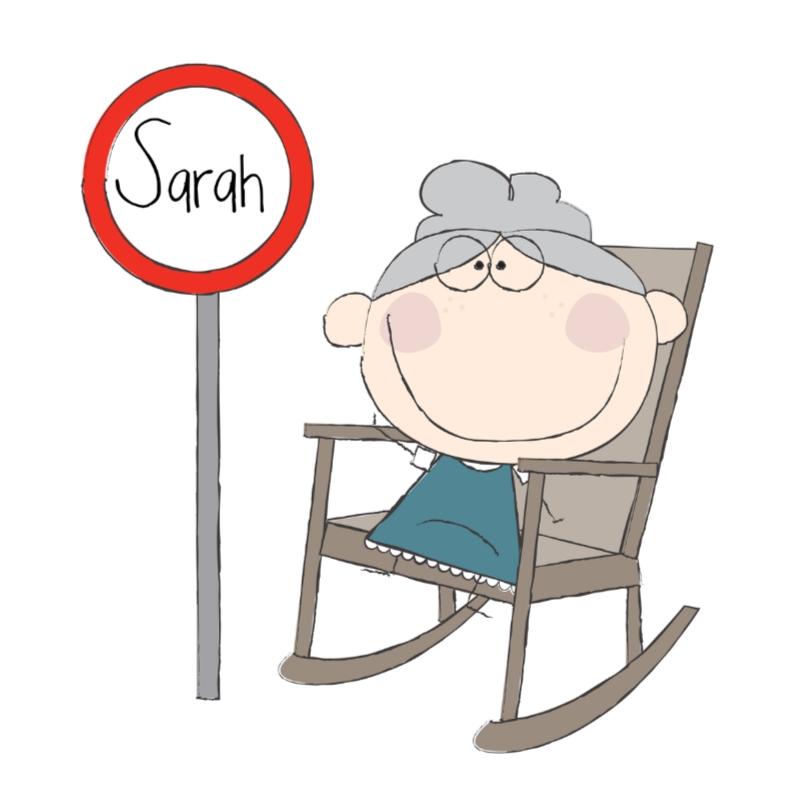 Verjaardagskaarten - Sarah 3