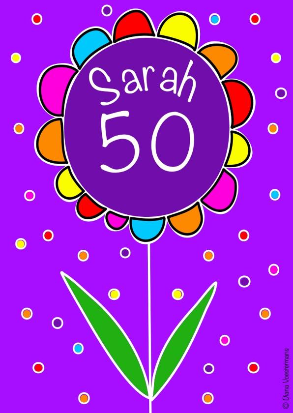 Verjaardagskaarten - Sarah