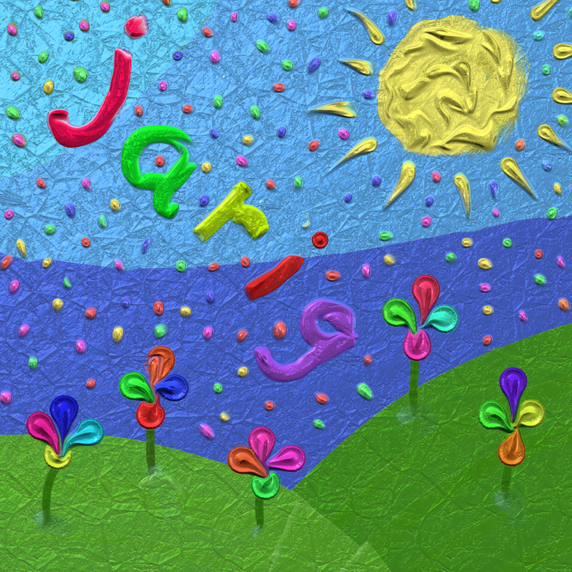 Verjaardagskaarten - schilderen - jarig