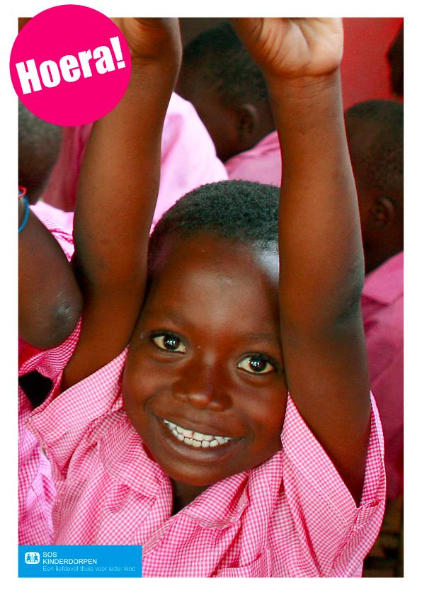 Verjaardagskaarten - SOS Kinderdorpen Hoera