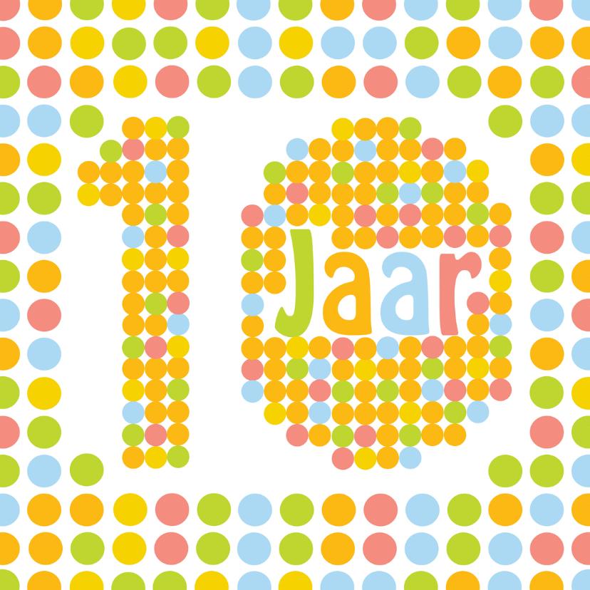 Verjaardagskaarten - stippen10jaar