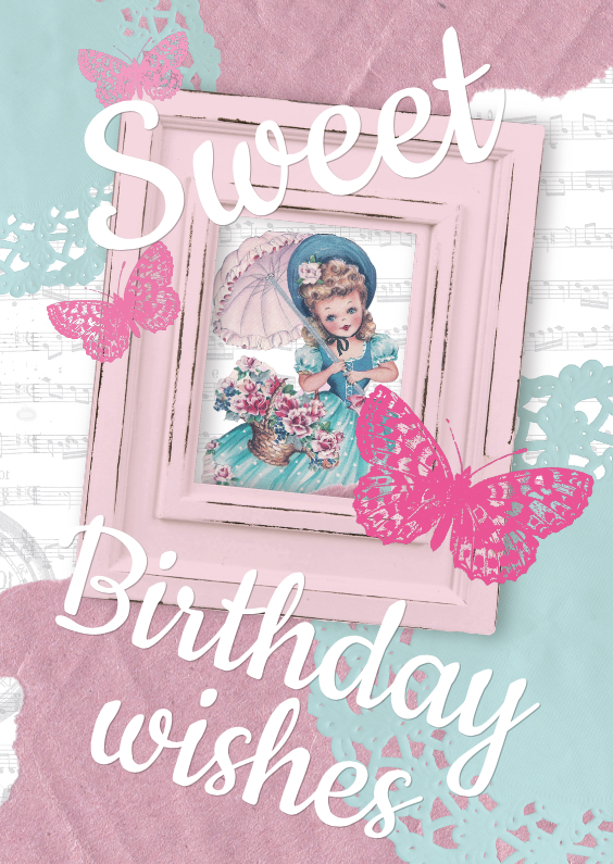 Verjaardagskaarten - Sweet Birthday Wishes