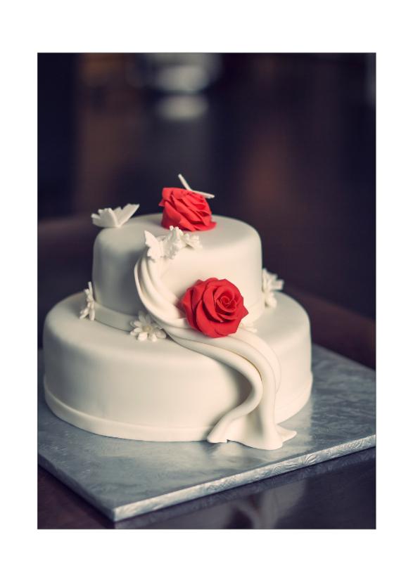 Verjaardagskaarten - taartje 2 go