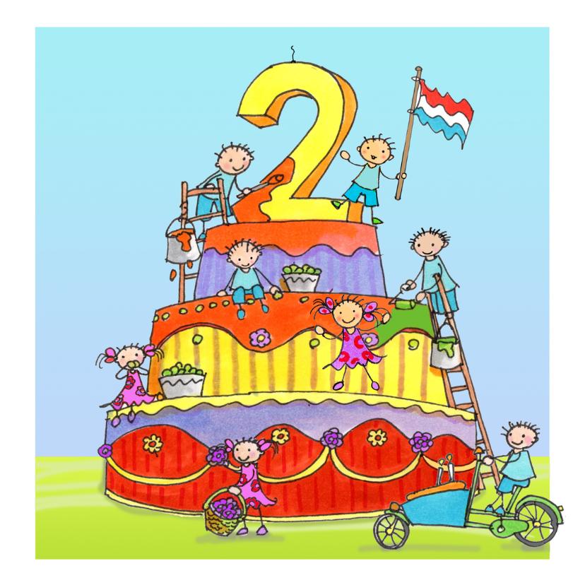 Verjaardagskaarten - twee jaar Anet Illustraties