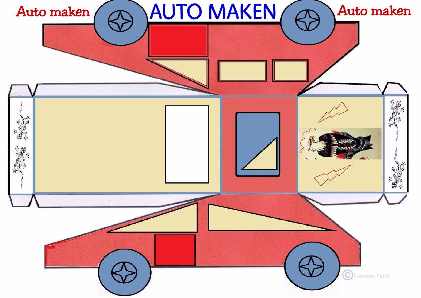Verjaardag auto maken-  jongens 1