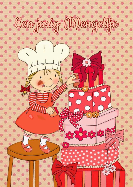 Verjaardagskaarten - Verjaardag (B)engeltje - TbJ