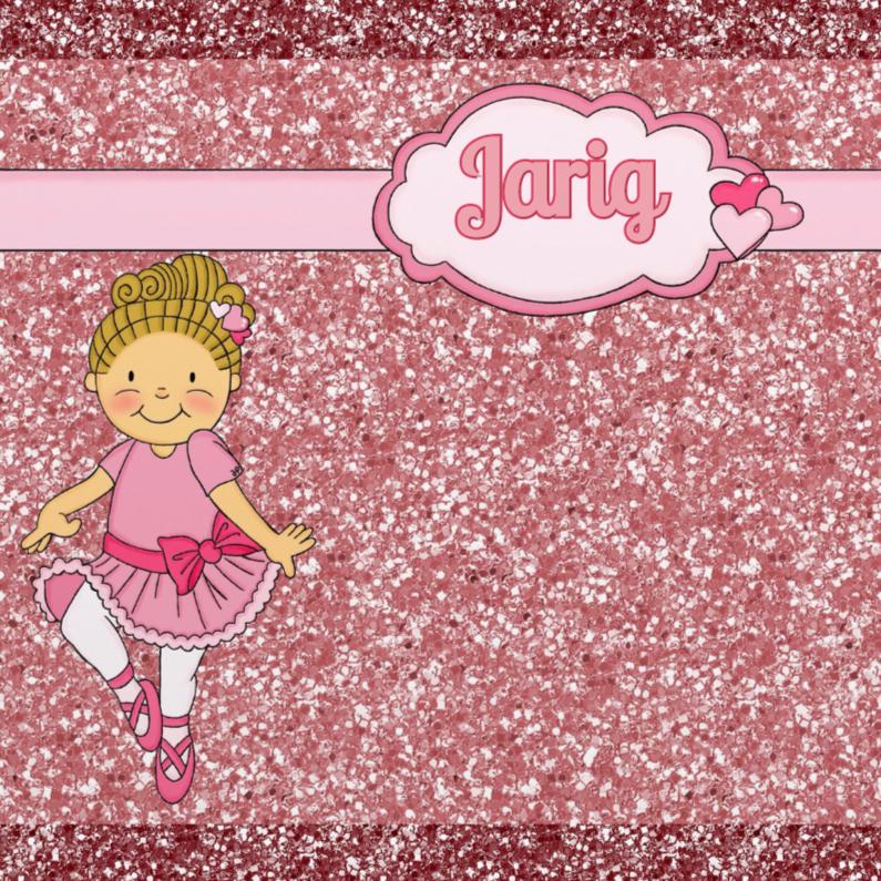 Verjaardagskaarten - Verjaardag Ballerina - TbJ