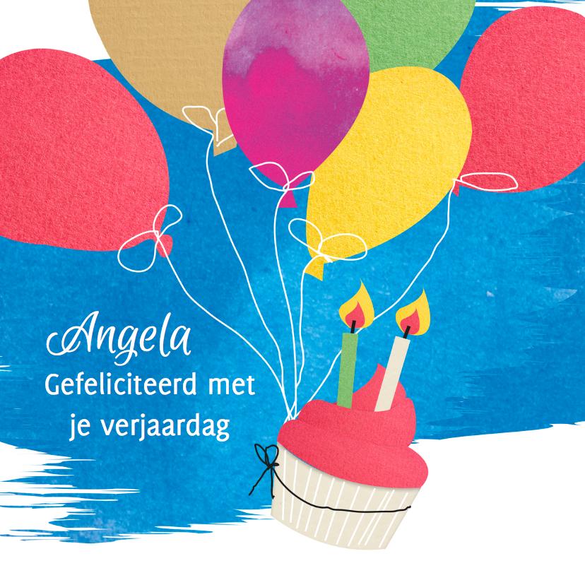 Verjaardagskaarten - Verjaardag-ballon-MD