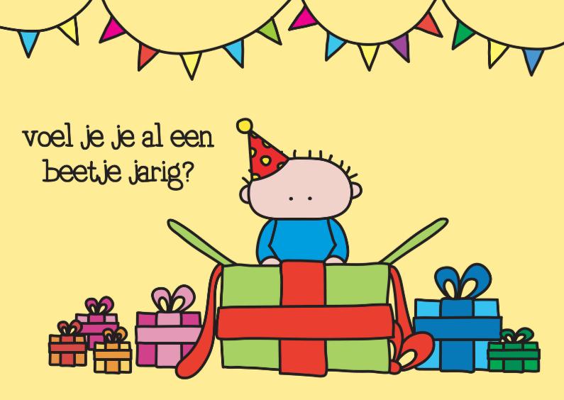 Verjaardagskaarten - Verjaardag Beetje Jarig