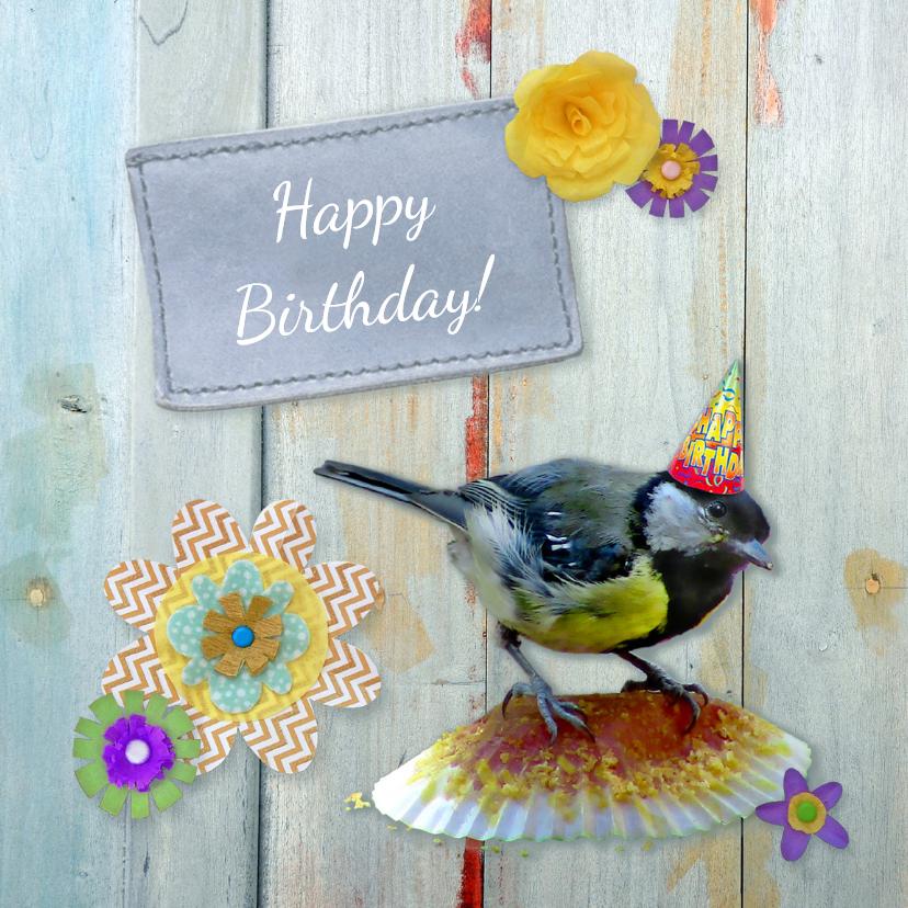 Verjaardagskaarten - Verjaardag Birthday cake
