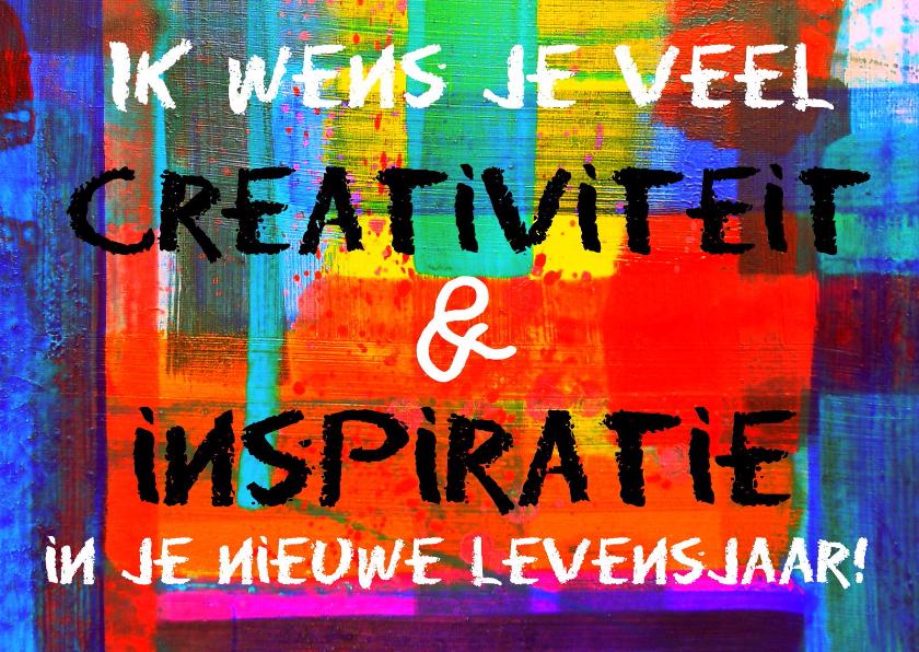 Verjaardag creativiteit IW  1
