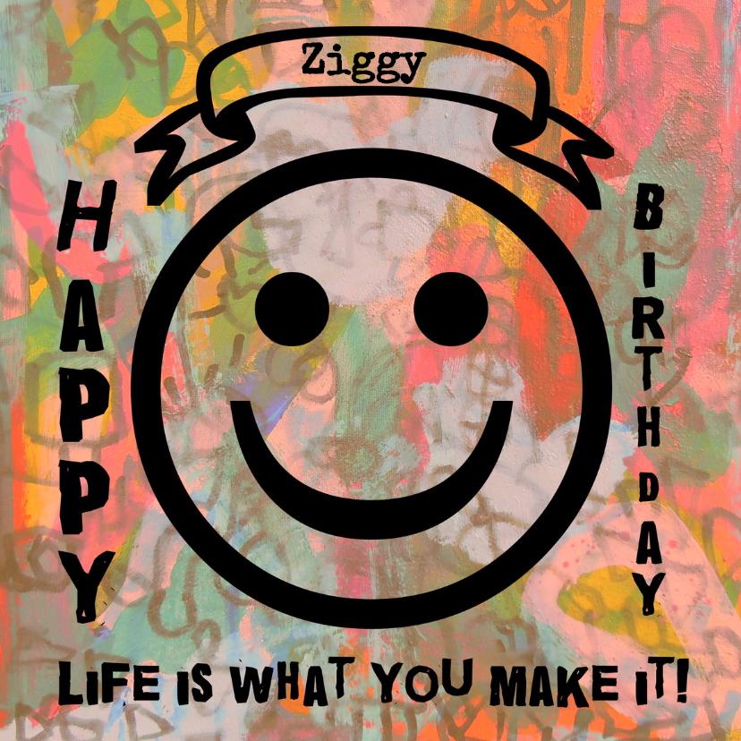 Verjaardagskaarten - Verjaardag Happy de Peppi IW