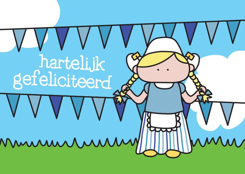 Verjaardagskaarten - Verjaardag Hollands
