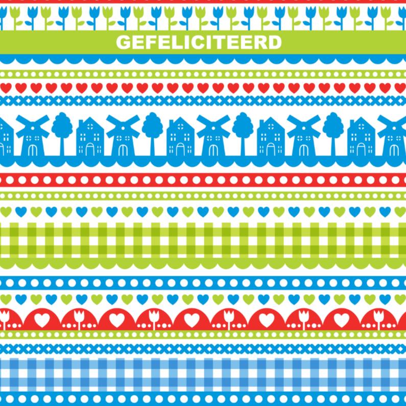Verjaardagskaarten - Verjaardag Hollandse Molens