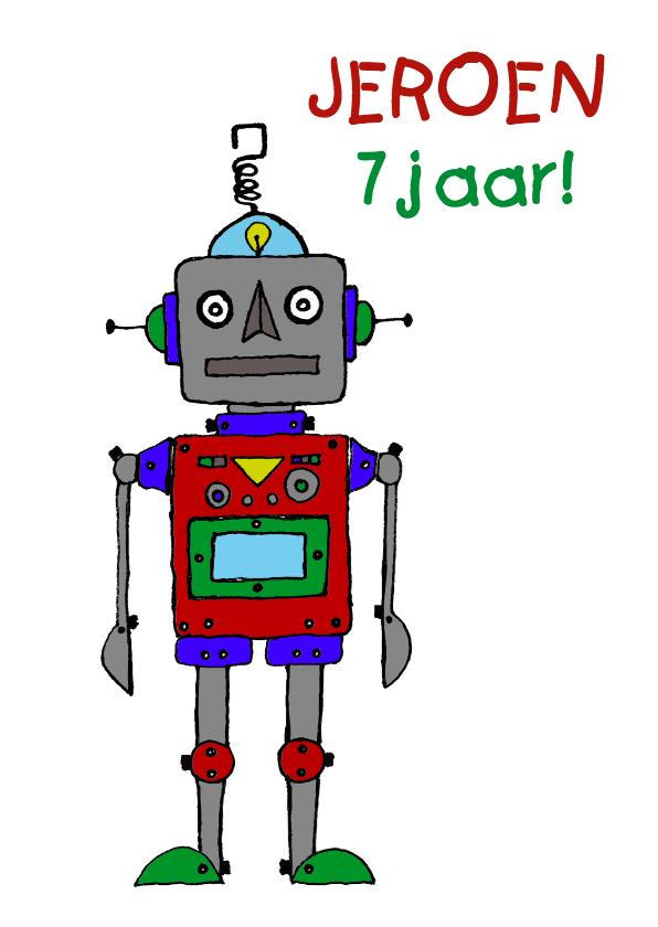 Verjaardagskaarten - Verjaardag-kind-robot-wit-HR