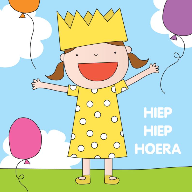 Verjaardagskaarten - Verjaardag Kinderen Kroon