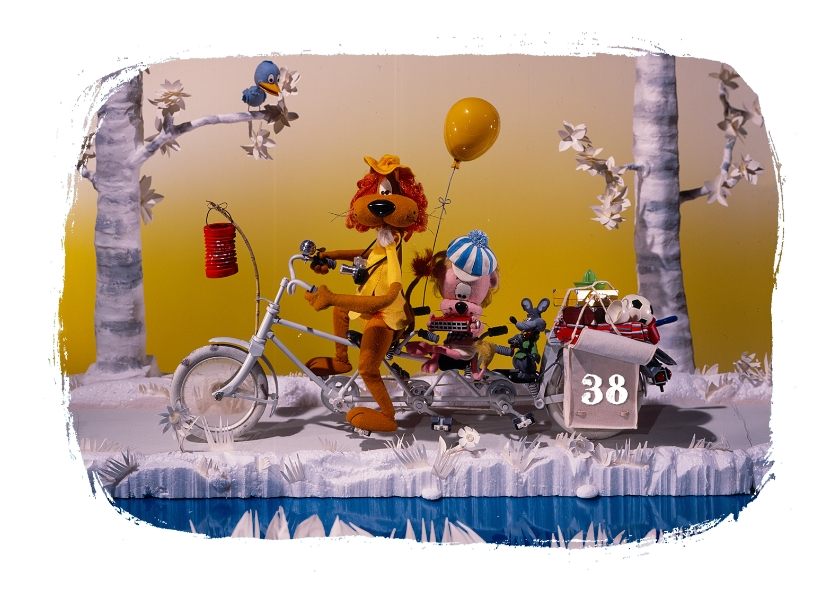 Verjaardagskaarten - Verjaardag Loeki op de fiets A