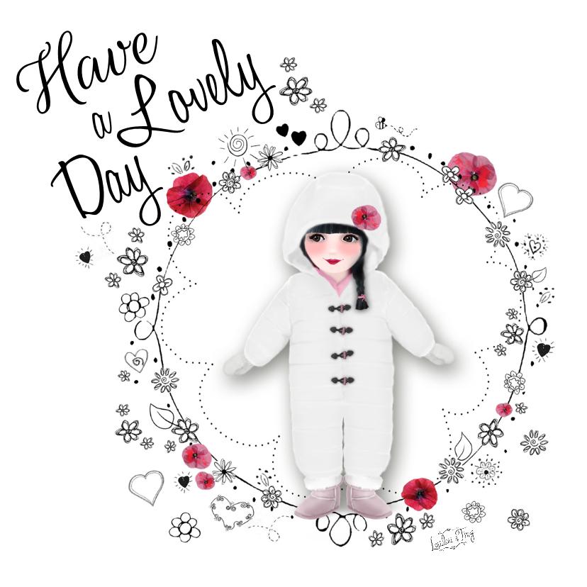 Verjaardagskaarten - Verjaardag Lovely Day -LT