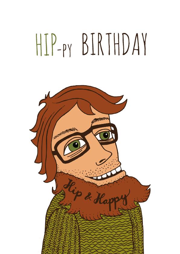 Verjaardagskaarten - Verjaardag-man-hiprood-HR