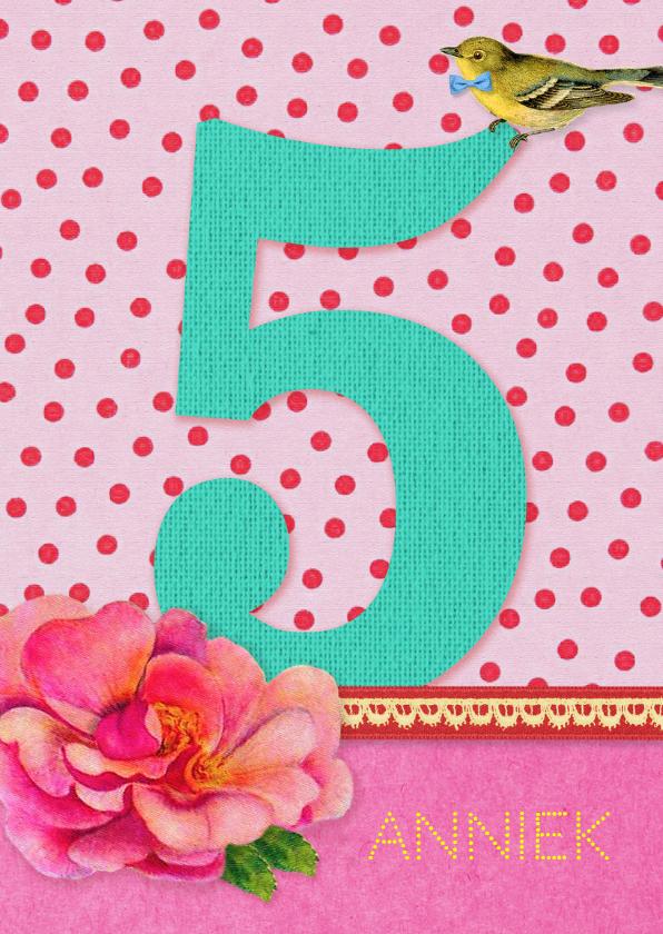 Verjaardagskaarten - Verjaardag Meisje 5