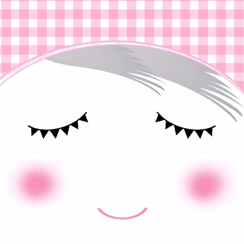 Verjaardagskaarten - Verjaardag Meisje Gezichtje