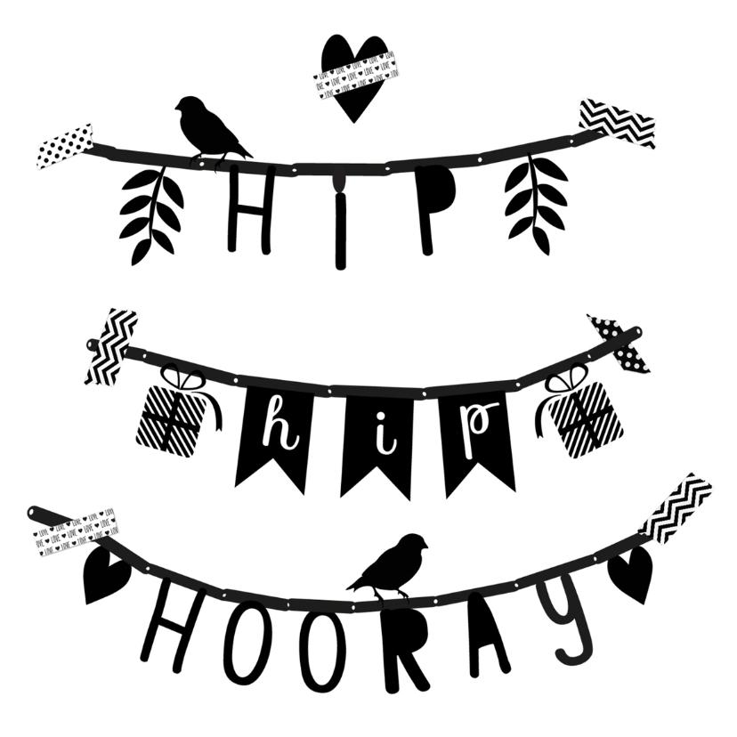 Verjaardag Slinger Hhh B Verjaardagskaarten Kaartje2go