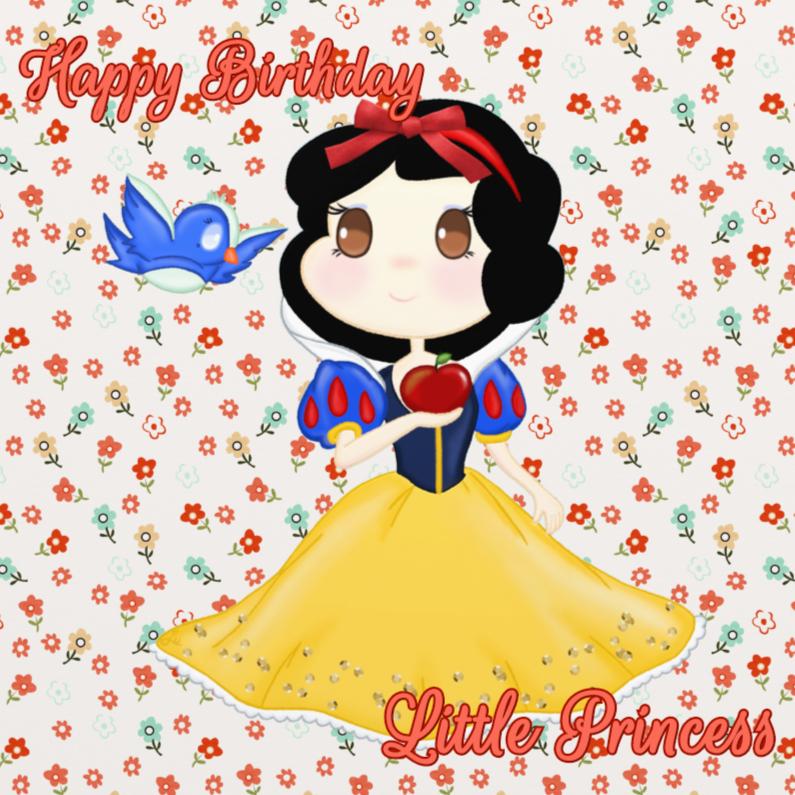 Verjaardagskaarten - Verjaardag Snowwhite - TbJ