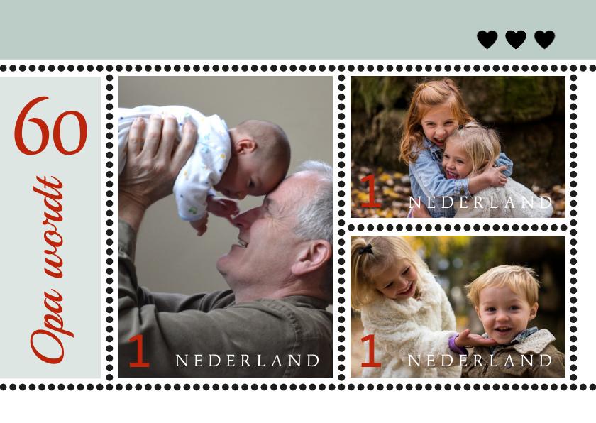 Verjaardagskaarten - Verjaardag speciale postzegelserie