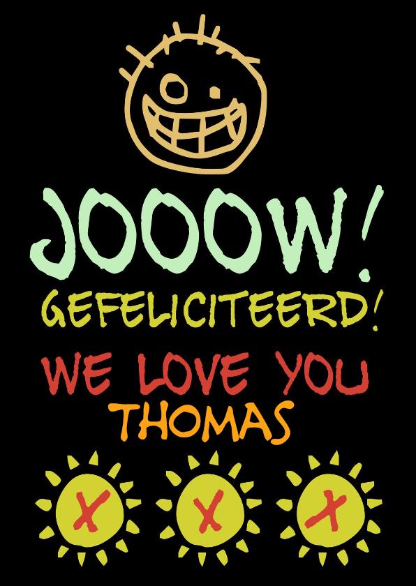Verjaardagskaarten - Verjaardag Thomas IW