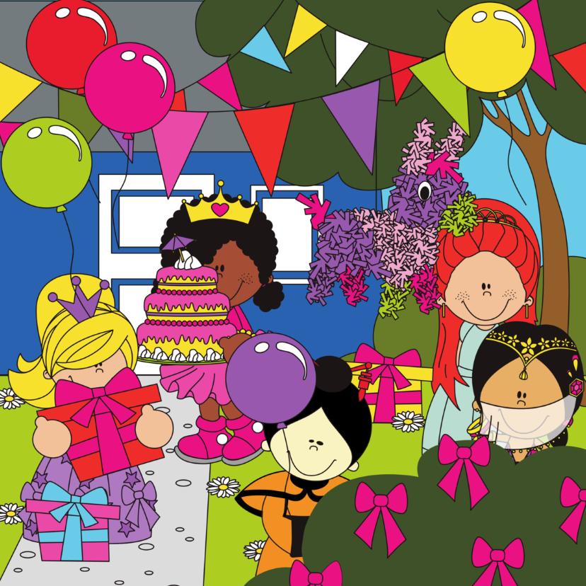 Verjaardagskaarten - Verjaardag van een prinses!