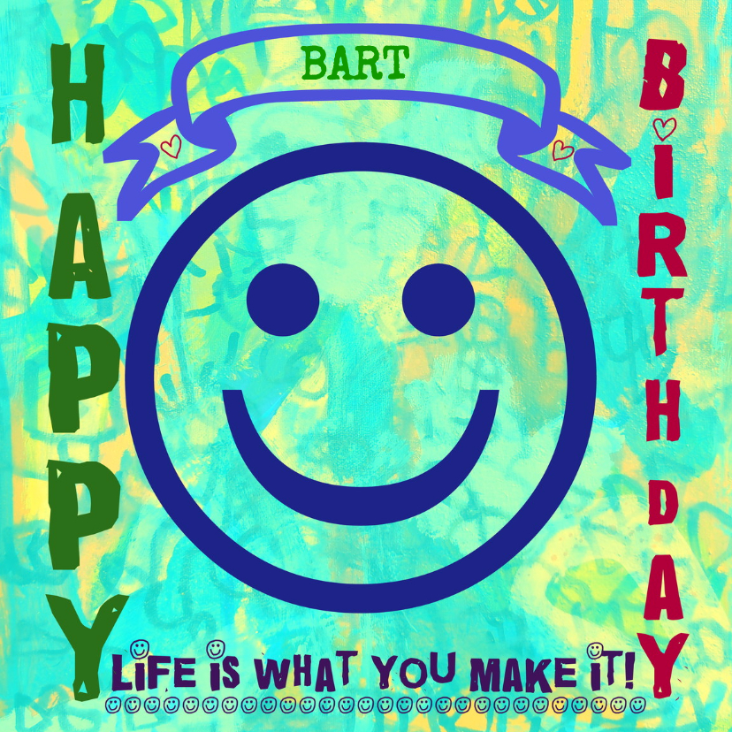 Verjaardagskaarten - Verjaardag Verfrissend IW